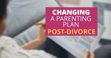 Changing Parent Plan After Divorce-FrancisKing